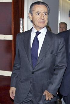 El presidente de Caja Madrid, Miguel Blesa. | José Cuéllar