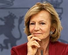 La ministra Elena Salgado.   EFE