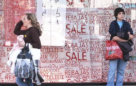 El gasto medio en las rebajas será el más bajo de la década. | Carlos Márquez