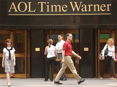 Sede de AOL Time Warner en Nueva York, antes de la venta de la filial a Google. | AP