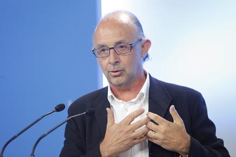 El portavoz económico del PP, Cristóbal Montoro. | Óscar Monzón