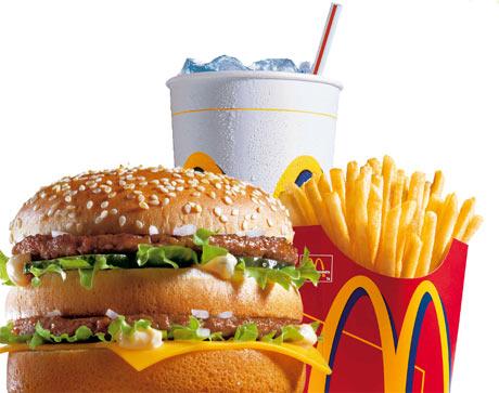 Menú Big Mac de McDonalds. | McDonalds