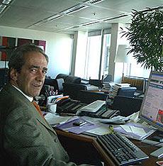 González-Páramo en un encuentro digital organizado por elmundo.es | El Mundo
