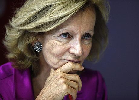 Elena Salgado, ministra de Economía y Hacienda del Gobierno español. | Reuters