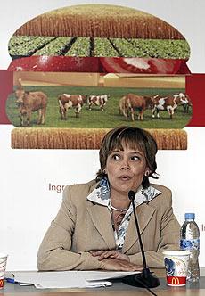 Patricia Abril, presidenta de McDonald's España.   Jaime Villanueva