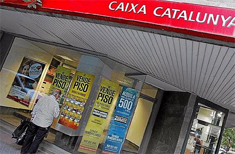 Una oficina de Caixa Catalunya. | El Mundo