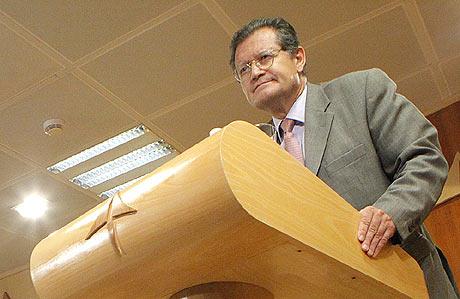 Juan Ignacio Lema, presidente de AENA. | Óscar Monzón