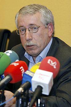 El secretario general confederal de CCOO, Ignacio Fernández Toxo.   Efe