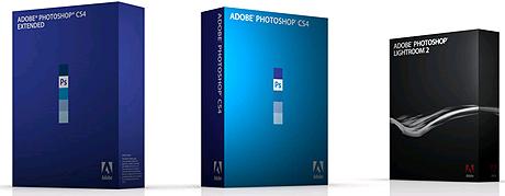 Imagen de los últimos programas de la serie Photoshop.   Adobe