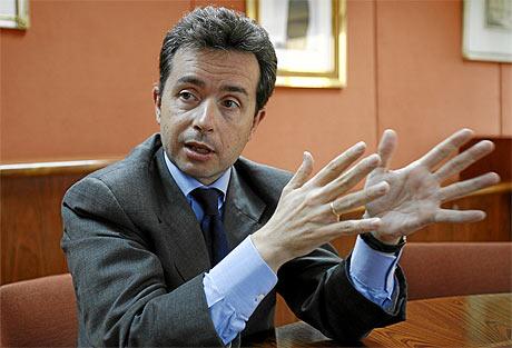 Ricardo Lozano, director general de Seguros y Fondos de Pensiones. | Begoña Rivas