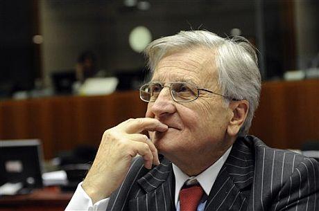 El presidente del BCE, Jean Claude Trichet.   AP