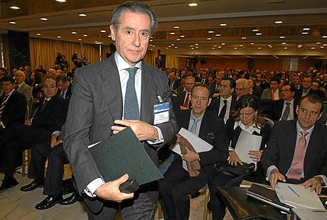 Miguel Blesa, presidente saliente de Caja Madrid. | J.M.Cadenas