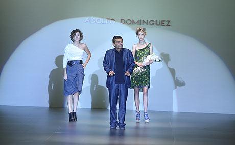 Adolfo Domínguez, en la Pasarela Cibeles de 2009. | Alberto Cuéllar