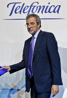 César Alierta, presidente de Telefónica. | Santi Cogolludo