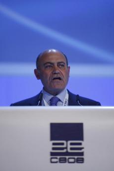 El presidente de la CEOE y de Viajes Marsans, Gerardo Díaz Ferrán. | EL MUNDO