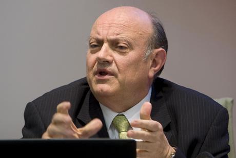 El presidente de la CECA, Juan Ramón Quintás. | Efe