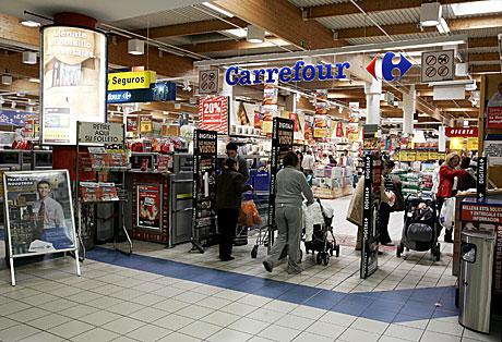 Imagen de un establecimiento de Carrefour en Madrid,   Jaime Villanueva