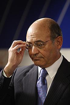 El presidente de la CEOE y dueño de Air Comet, Díaz Ferrán. | Sergio Rodríguez