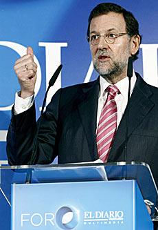 El presidente del Partido Popular, Mariano Rajoy. | Efe
