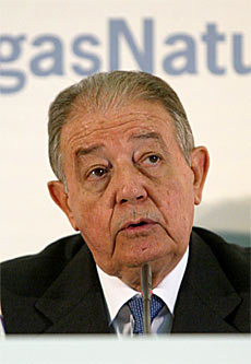 Salvador Gabarró, presidente de Gas Natural. | Domènec Umbert