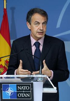 La gestión de José Luis Rodríguez Zapatero ha atraído la atención de diversos medios internacionales. | AP