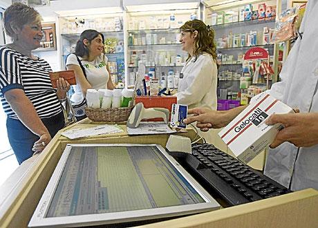 Una farmacia en el País Vasco.   Mitxi
