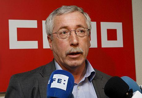 El secretario general de CCOO, Ignacio Fernández Toxo. | Efe