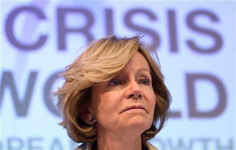 La ministra de Economía, Elena Salgado. | AP