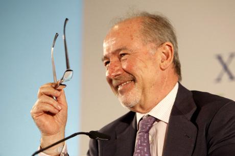 El presidente de Caja Madrid, Rodrigo Rato.   Carlos Alba