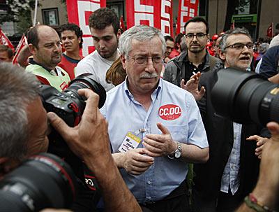El secretario general de CCOO, Ignacio Fernández Toxo. | Diego Sinova