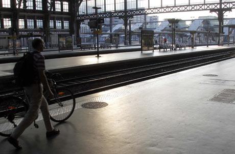 Estación de Lille-Flandres, al norte de Francia.   Reuters