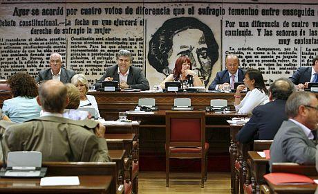 Vista de la Comisión de Trabajo e Inmigración del Senado. | Efe