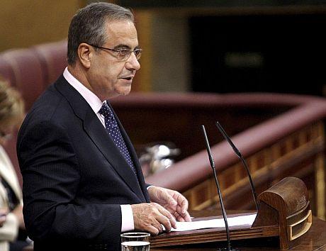 El ministro de Trabajo, Celestino Corbacho. | Efe