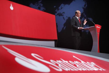 El presidente del Santander, Emilio Botín.   David S. Bustamante
