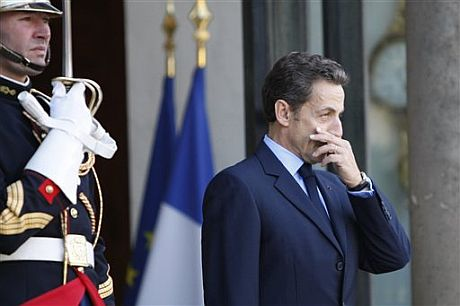 El presidente francés, Nicolas Sarkozy, | AP