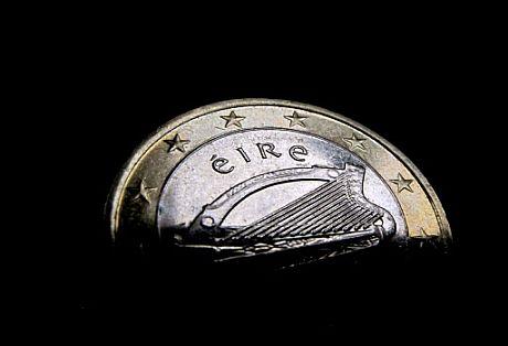 Euro irlandés. | AFP
