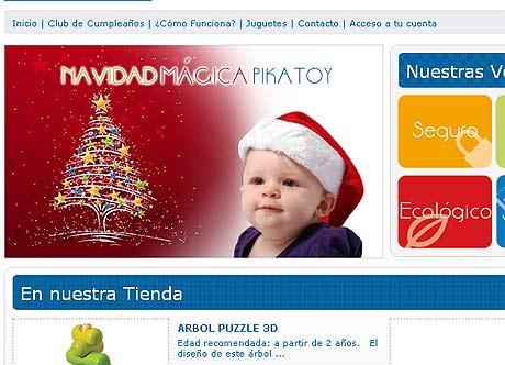 Imagen de la web de alquiler de juguetes.