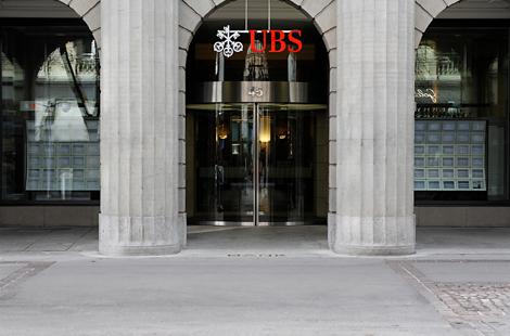 Sede de UBS en Zurich (Suiza).