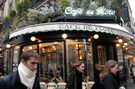 Imagen del conocido Café Flore en París. | EL MUNDO