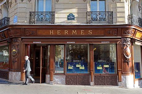 Una tienda de Hermes en Francia. | Afp
