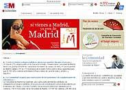 Pantalla de inicio de 'madrid.org'