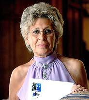Pilar Bardem, actriz y presidenta de la Fundación de Artistas e Intérpretes Sociedad de Gestión (AISGE). (Foto: EFE)
