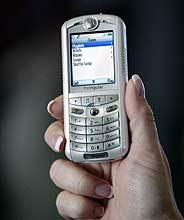 El móvil Motorola ROKR (Foto: REUTERS)