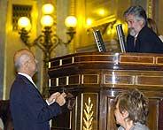 Manuel Marín en una sesión plenaria (Foto: José Ayma)