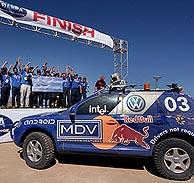 El coche triunfador. (Foto: REUTERS)