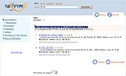 El buscador Noxtrum permite búsquedas de empresas al detalle a través del CIF. (Imagen: elmundo.es)