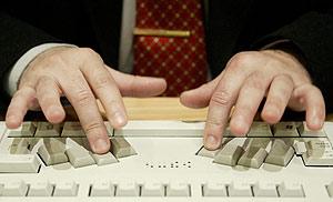 Detalle del nuevo teclado. (Foto: EFE)