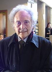 Eduard Punset, en Huesca. (Foto: elmundo.es)