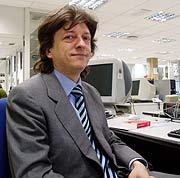 Javier de la Cueva, durante un encuentro. (Foto: elmundo.es)