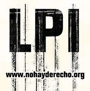 Imagen provisional de la nueva plataforma 'nohayderecho.org', promovida por la SGAE.
